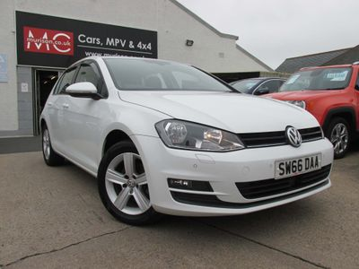 Volkswagen Golf Hatchback 2.0 TDI BlueMotion Tech Match Edition (s/s) 5dr
