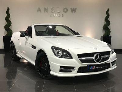 Mercedes-Benz SLK Convertible 250 D AMG SPORT AUTO 9G-TRONIC 2.2 2dr