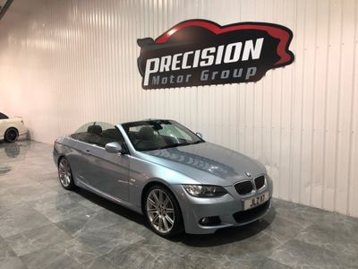 BMW 3 Series Convertible 3.0 330d M Sport Highline 2dr
