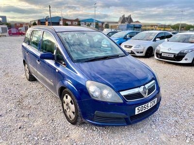 Vauxhall Zafira MPV 1.6 i 16v Life 5dr