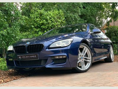 BMW 6 Series Gran Coupe Saloon 4.4 650i V8 M Sport Gran Coupe Auto (s/s) 4dr