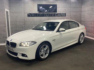 BMW 5 Series Saloon 2.0 518d M Sport 4dr