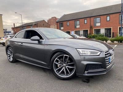 Audi A5 Coupe 2.0 TDI S line S Tronic quattro (s/s) 2dr