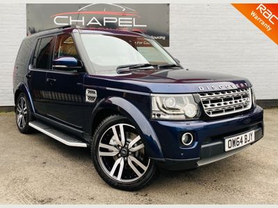Land Rover Discovery 4 SUV 3.0 SD V6 HSE Luxury Auto 4WD (s/s) 5dr