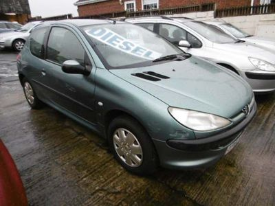 Peugeot 206 Hatchback 2.0 HDi LX 3dr (electric sunroof)
