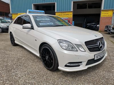 Mercedes-Benz E Class Saloon 2.1 E250 CDI BlueEFFICIENCY Sport G-Tronic 4dr