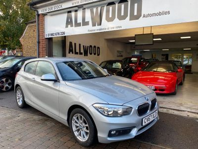BMW 1 Series Hatchback 2.0 118d SE Sports Hatch (s/s) 3dr