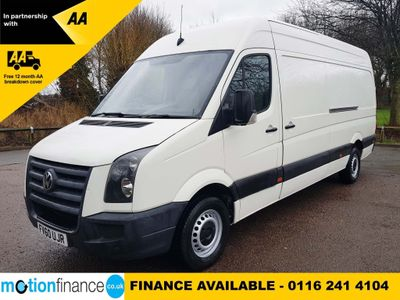 Volkswagen Crafter Panel Van 2.5 BlueTDI CR35 Maxi High Roof Van 4dr (LWB)