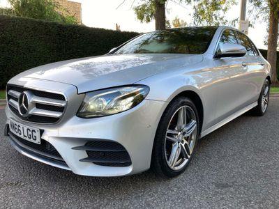 Mercedes-Benz E Class Saloon 2.0 E220d AMG Line (Premium Plus) G-Tronic+ (s/s) 4dr