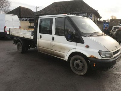 Ford Transit Tipper Double Cab Tipper 115 Ps
