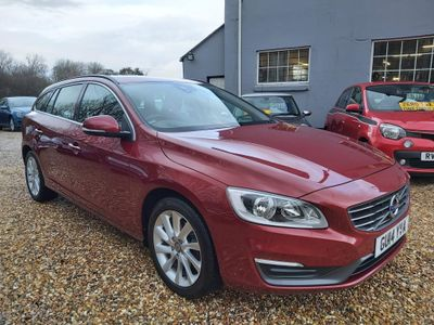 Volvo V60 Estate 1.6 D2 SE Powershift (s/s) 5dr