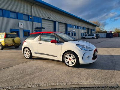 Citroen DS3 Hatchback 1.6 e-HDi Airdream DSport Red 3dr