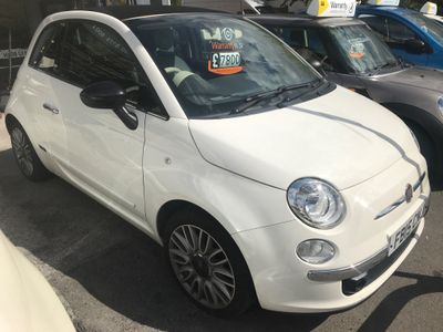 Fiat 500C Convertible 0.9 TwinAir Cult (s/s) 2dr