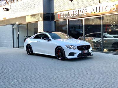 Mercedes-Benz E Class Coupe 3.0 E400 V6 AMG Line (Premium) G-Tronic+ 4MATIC (s/s) 2dr
