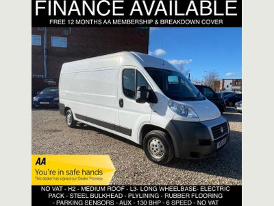 Fiat Ducato Panel Van 2.3 JTD MultiJet 35 L3H2 High Roof Van 5dr (LWB)