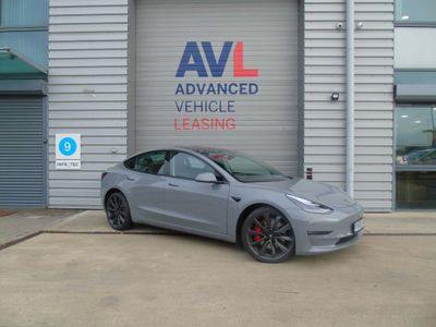Tesla Model 3 Saloon Dual Motor Performance Auto 4WDE 4dr (Performance Upgrade)