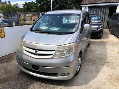 Toyota Alphard MPV Hybrid 2.4 automatic 8 seat MPV