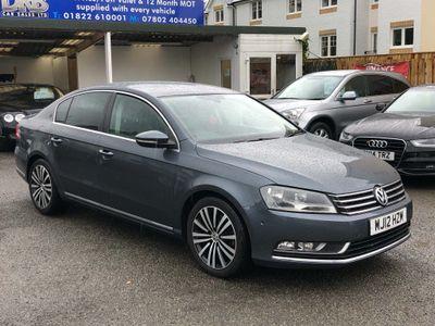 Volkswagen Passat Saloon 2.0 TDI BlueMotion Tech Sport (s/s) 4dr
