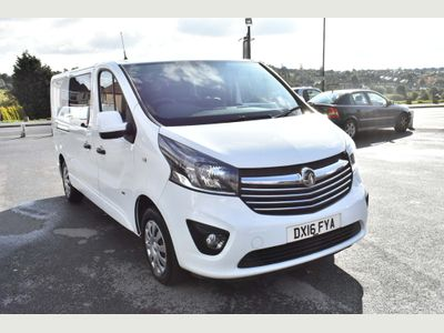 VAUXHALL VIVARO Other 1.6 CDTi Sportive 2900 L2H1 Double Cab 5dr