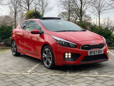 Kia ProCeed Hatchback 1.6 CRDi GT-Line S DCT (s/s) 3dr