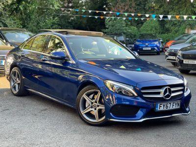 Mercedes-Benz C Class Saloon 2.0 C200 AMG Line (Premium) G-Tronic+ (s/s) 4dr