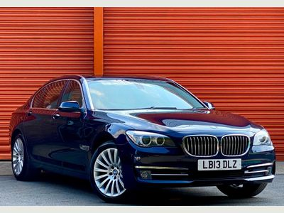 BMW 7 Series Saloon 3.0 740Li SE (s/s) 4dr