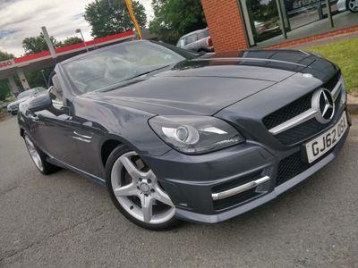 Mercedes-Benz SLK Convertible 1.8 SLK200 BlueEFFICIENCY AMG Sport (s/s) 2dr