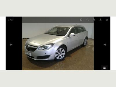 Vauxhall Insignia Estate 1.6 Turbo D ecoTEC Tech Line Nav Sports Tourer (s/s) 5dr