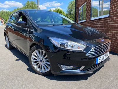 Ford Focus Hatchback 1.5 TDCi Titanium X Powershift (s/s) 5dr