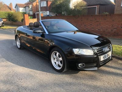 Audi A5 Cabriolet Convertible 1.8 TFSI Cabriolet Multitronic 2dr