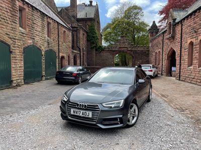 Audi A4 Saloon 3.0 TDI V6 S line S Tronic (s/s) 4dr