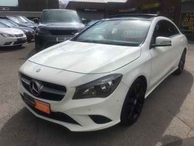 Mercedes-Benz CLA Class Coupe 1.6 CLA180 Sport 4dr