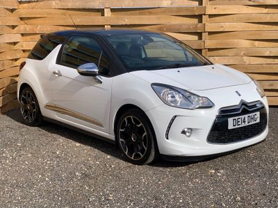 Citroen DS3 Hatchback 1.6 e-HDi Airdream DSport Plus 3dr