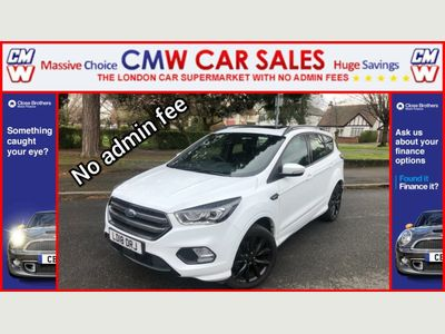 Ford Kuga SUV 1.5T EcoBoost ST-Line X Auto AWD (s/s) 5dr