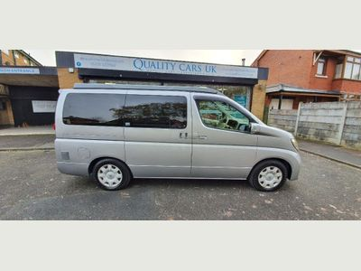 Nissan Elgrand Campervan 2.5 V6 New Conversion