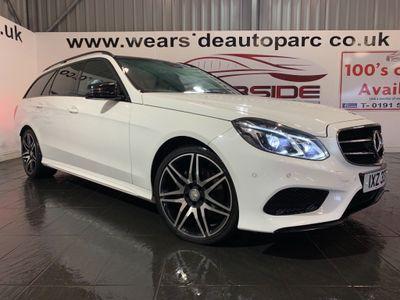Mercedes-Benz E Class Estate 2.1 E220 CDI BlueTEC AMG Night Edition (Premium) 7G-Tronic Plus 5dr
