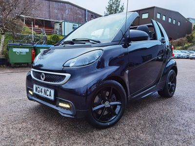 Smart fortwo Convertible 1.0 MHD Grandstyle Cabriolet Softouch 2dr