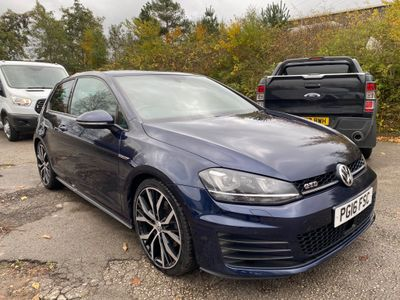 Volkswagen Golf Hatchback 2.0 TDI BlueMotion Tech GTD DSG 3dr