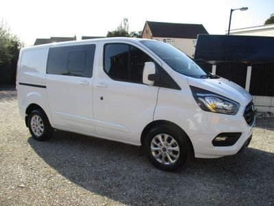 Ford Transit Custom Other 2.0 300 EcoBlue Limited DCIV L1 H1 EU6 (s/s) 5dr