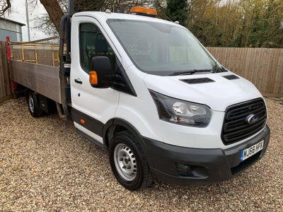 Ford Transit Chassis Cab 350 130 LWB 13ft ALUMINIUM DROPSIDE
