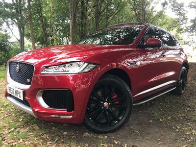 Jaguar F-PACE SUV 3.0 V6 S Auto AWD (s/s) 5dr