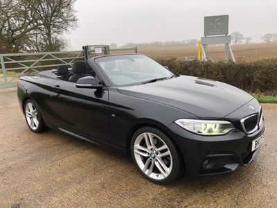 BMW 2 Series Convertible 2.0 220d M Sport (s/s) 2dr