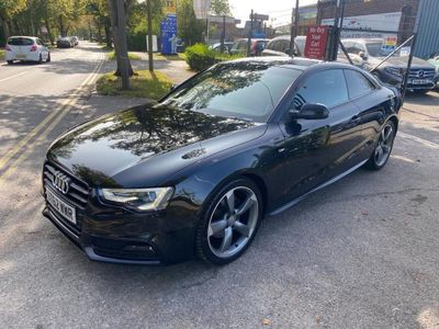 Audi A5 Coupe 1.8 TFSI Black Edition Multitronic 2dr