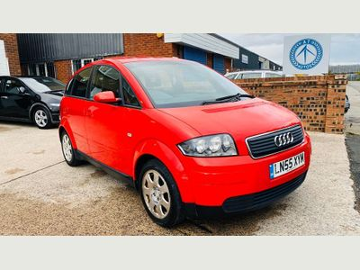 AUDI A2 Hatchback 1.4 Special Edition Hatchback 5dr Petrol Manual (144 g/km, 75 bhp)