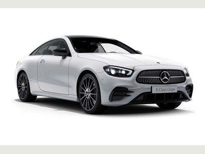 Mercedes-Benz E Class Coupe 2.0 E300 AMG Line (Premium Plus) G-Tronic+ (s/s) 2dr
