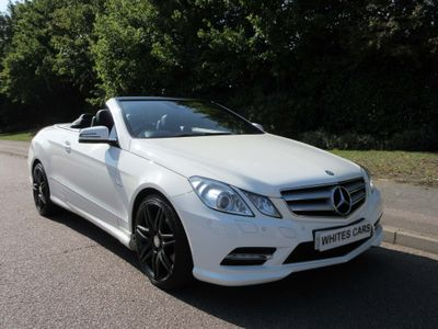 MERCEDES-BENZ E CLASS Convertible 1.8 E200 BlueEFFICIENCY Sport Cabriolet G-Tronic 2dr