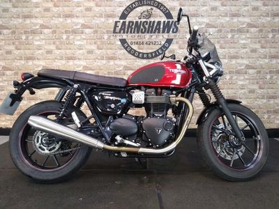 Triumph Street Twin Roadster/Retro 900 Korosi Red ABS