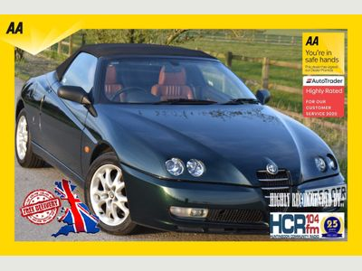 Alfa Romeo Spider Convertible 2.0 JTS Lusso 2dr