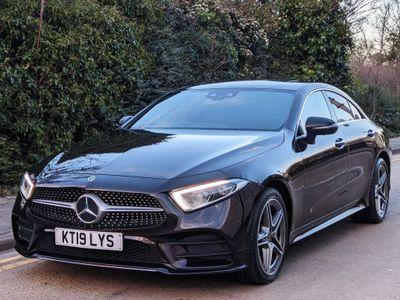 Mercedes-Benz CLS Coupe 3.0 CLS350d AMG Line (Premium Plus) G-Tronic 4MATIC (s/s) 4dr