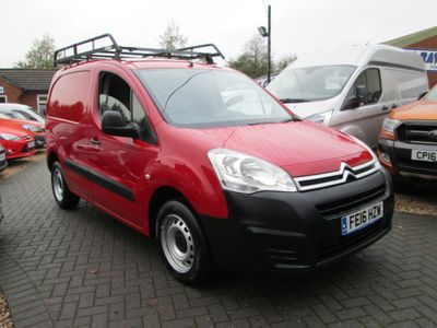 Citroen Berlingo Panel Van 1.6 HDi L1 850 X Panel Van 4dr